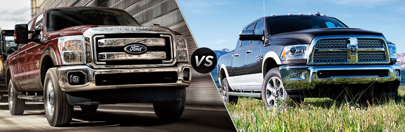 2016 Ford F-350 vs 2016 RAM 3500