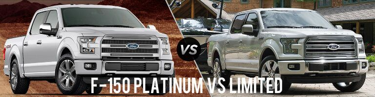 2016 Ford F-150 Platinum vs Limited