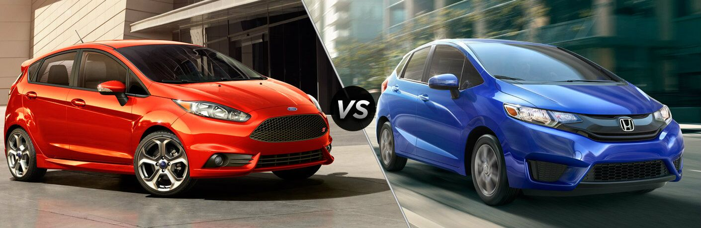 Superb 2016 Ford Fiesta Vs 2016 Honda Fit