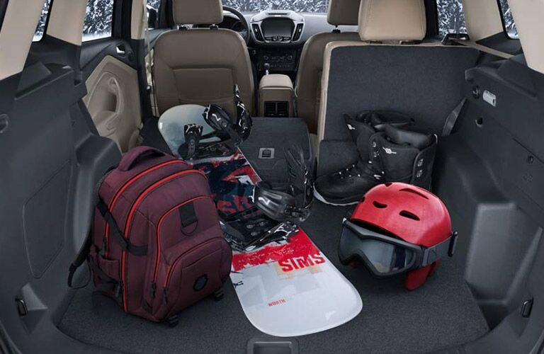 2017 Escape rear cargo space