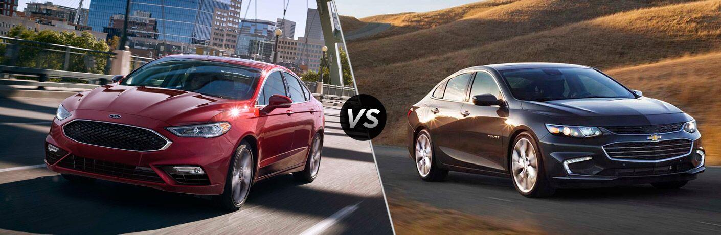 2017 Ford Fusion vs 2017 Chevrolet Malibu