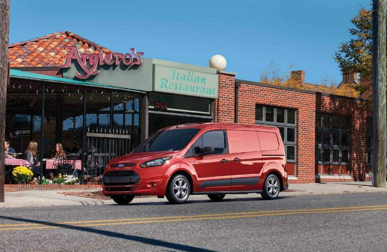 2017 Transit Connect Race Red