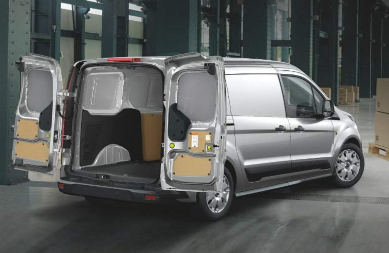 2017 Transit Connect 180-degree rear doors