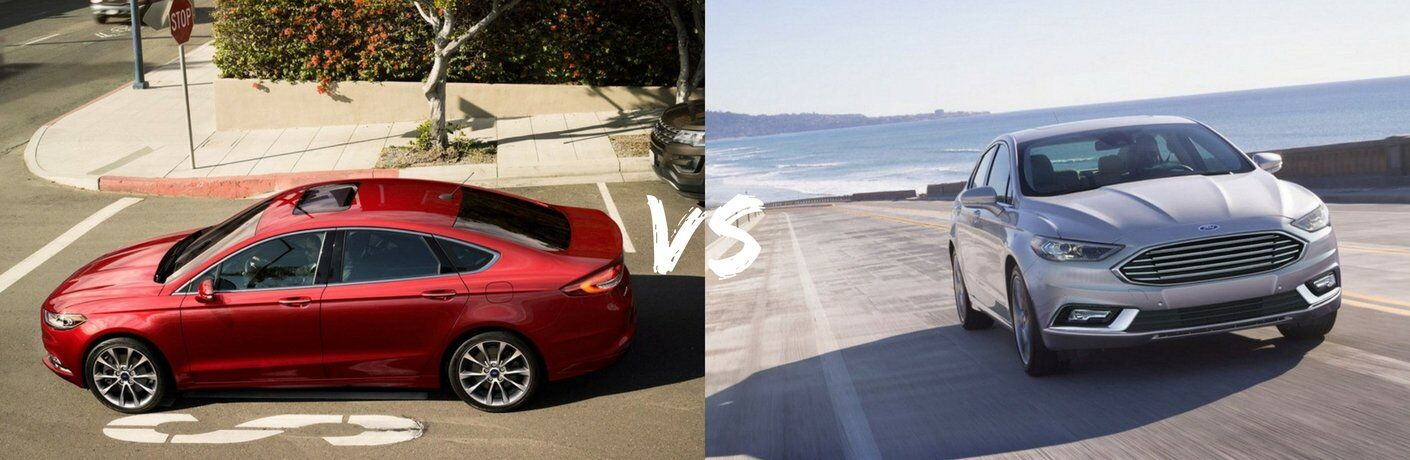 2017 Ford Fusion SE vs 2017 Ford Fusion Titanium