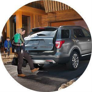 2017 Ford Explorer hands-free liftgate