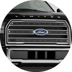 2017 Ford F-150 Limited front grille