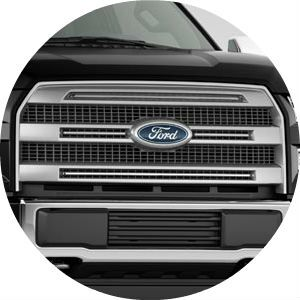 2017 Ford F-150 three-bar front grille design