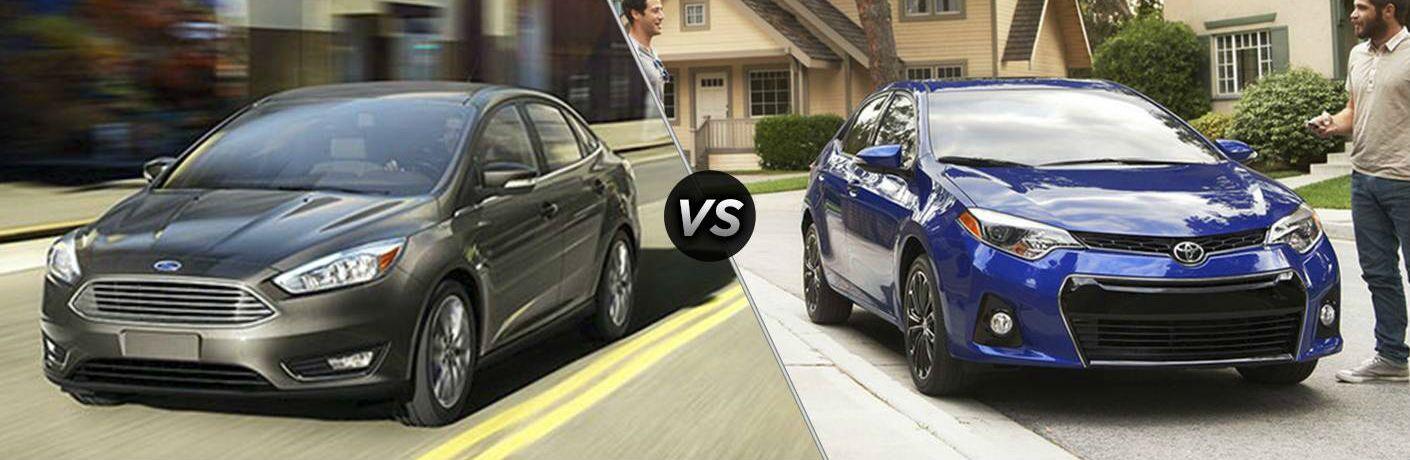 2017 Ford Focus vs 2017 Toyota Corolla