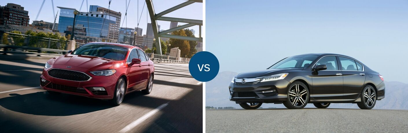 2017 Ford Fusion vs 2017 Honda Accord