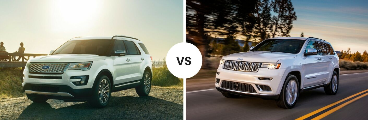 Jeep Dealership Edmonton >> 2017 Ford Explorer vs 2017 Jeep Grand Cherokee