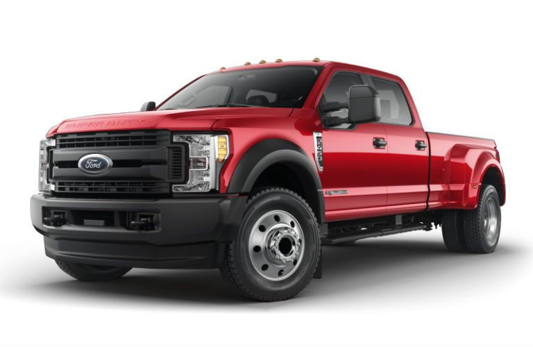 Red 2017 Ford F-450 Super Duty in Edmonton AB