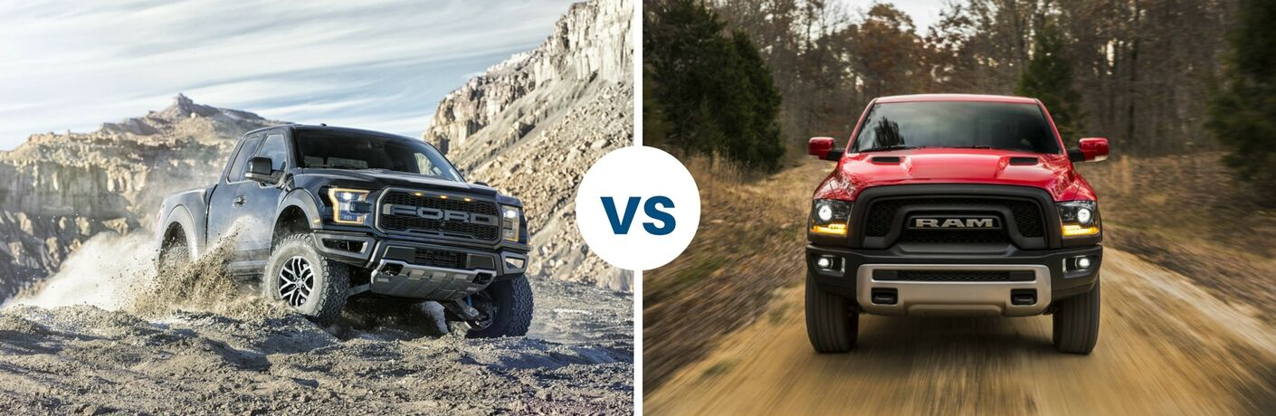 Ford F-150 Raptor vs Ram 1500 Rebel in Edmonton, Alberta on rebel dodge ram truck 2016, fiat pickup truck ram, rebel dodge ram truck 2015,