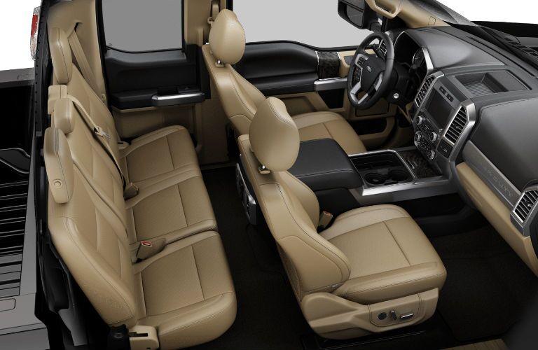 2017 Ford F-250 Super Duty Lariat leather interior