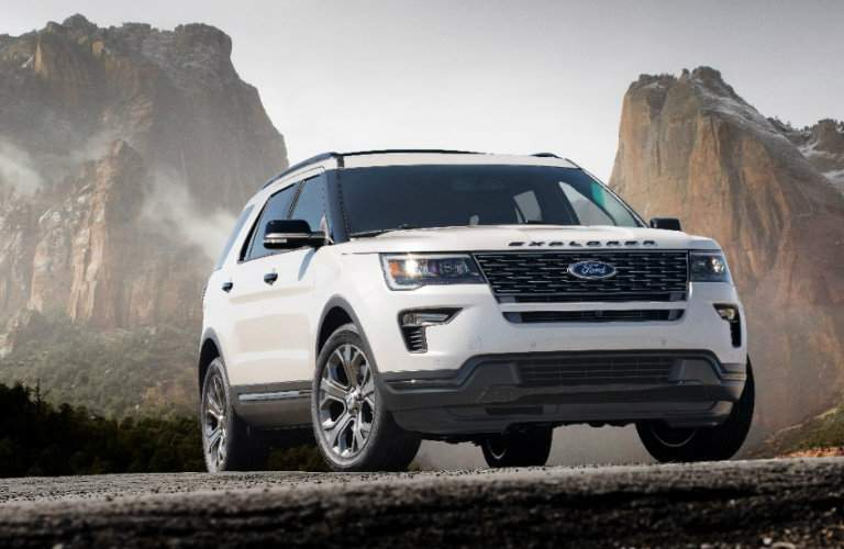 2018 Ford Explorer EcoBoost engine