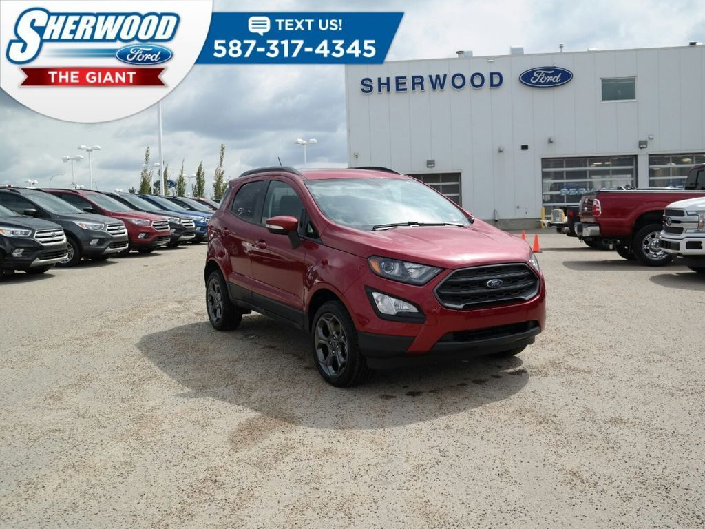 Red 2018 Ford EcoSport at Sherwood Ford