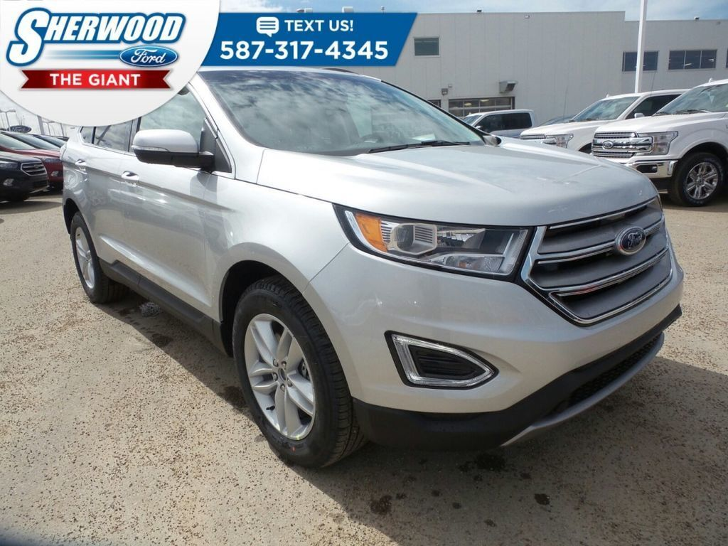 White 2018 Ford Edge at Sherwood Ford