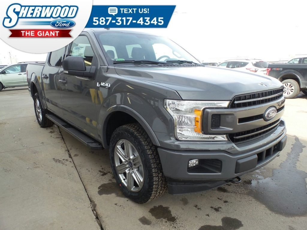 Grey 2018 Ford F-150 at Sherwood Ford