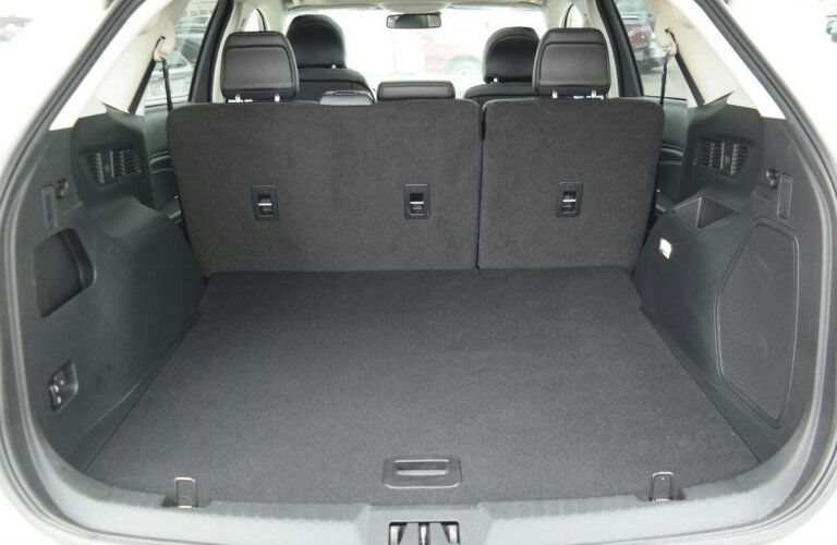 Rear cargo volume of 2018 Ford Edge