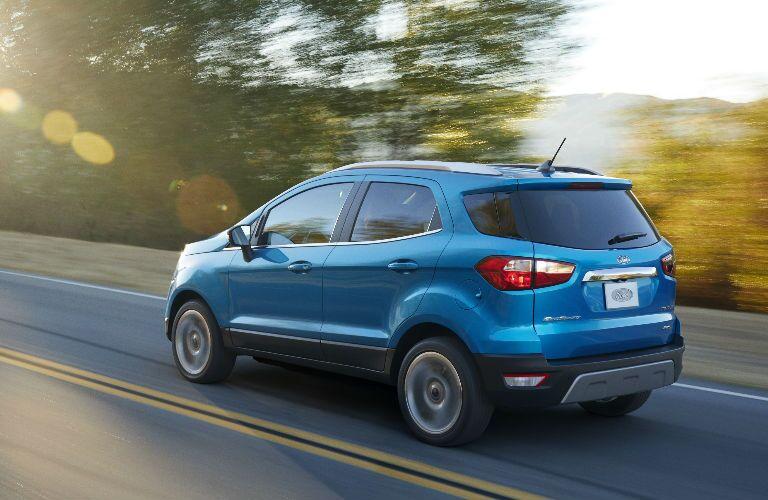 2018 Ford EcoSport fuel economy