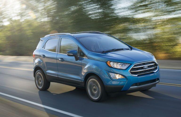 2017 Ford EcoSport high fuel efficiency