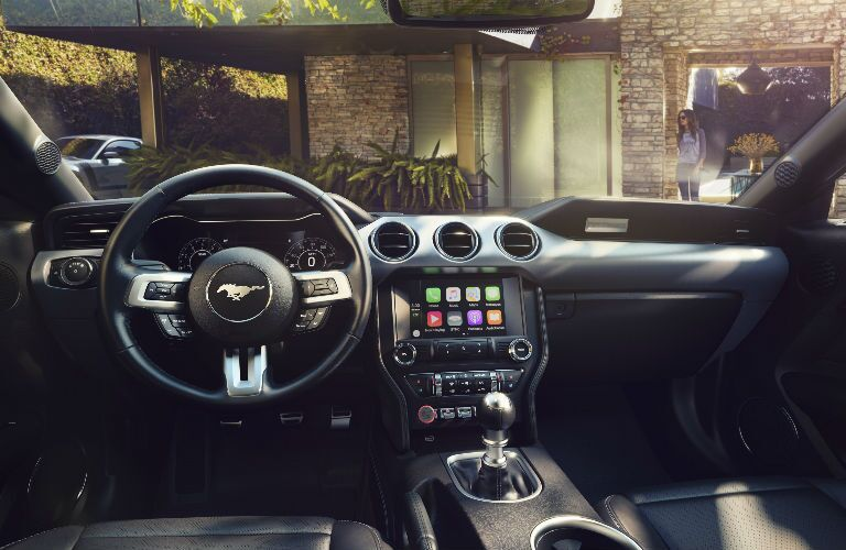 2018 Ford Mustang SYNC infotainment system