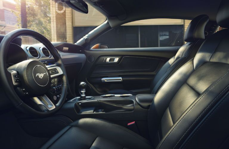 2018 Ford Mustang manual transmission