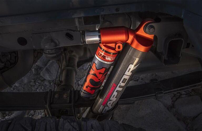 Fox shocks inside 2019 Ford F-150 Raptor