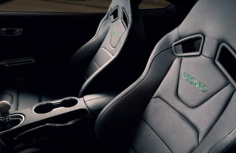 Front Seats inside the 2019 Ford Mustang Bullitt