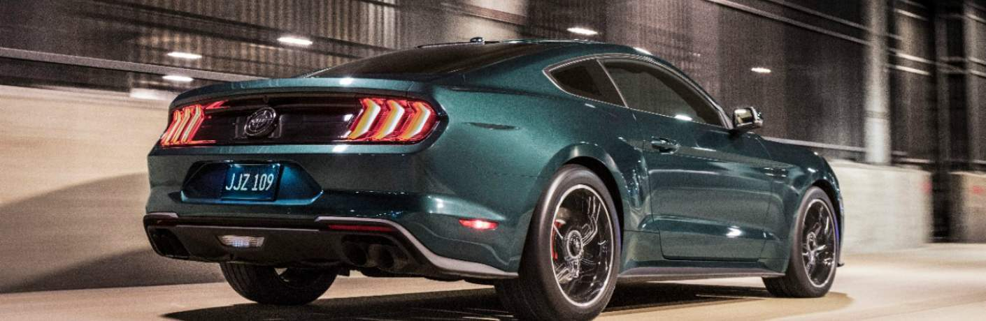 Side View of the 2019 Ford Mustang Bullitt