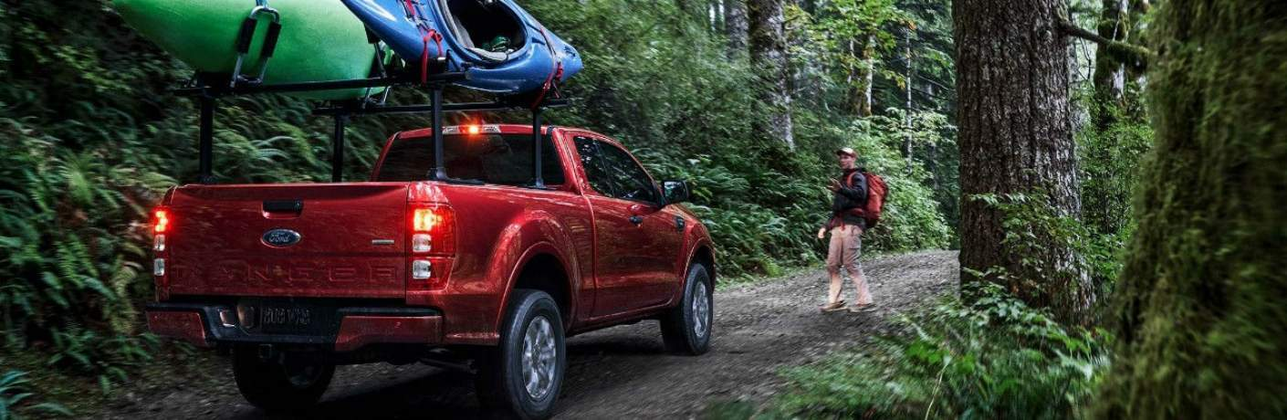 2019 Ford Ranger Stopped in the Forest