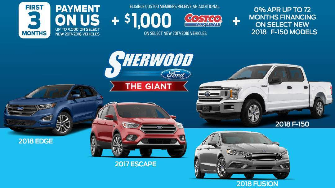 January 2018 Ford Canada Incentives