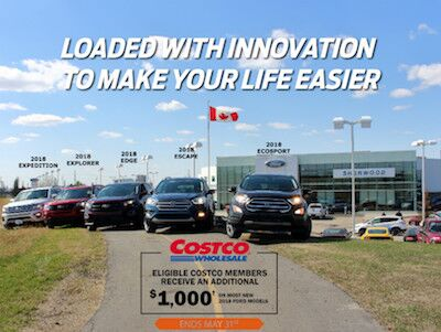 Canada's Most Popular Line of SUV's