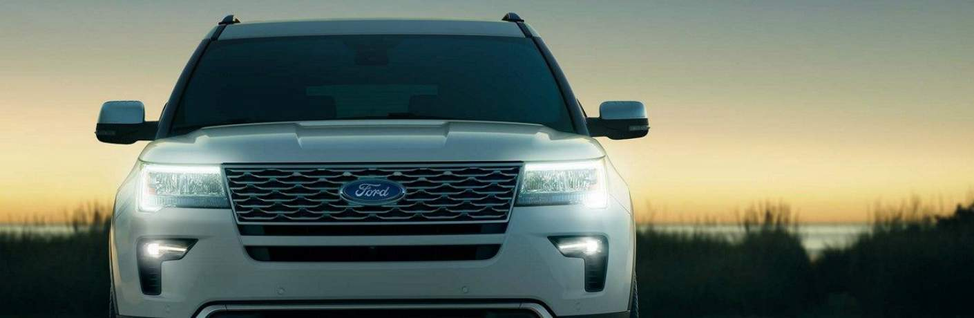 LED Headlights on the 2018 Ford Explorer