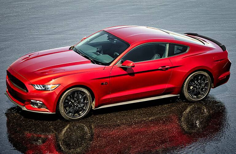 Ford Mustang model information