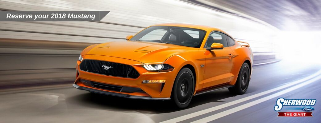 Reserve the 2018 Ford Mustang in Edmonton AB
