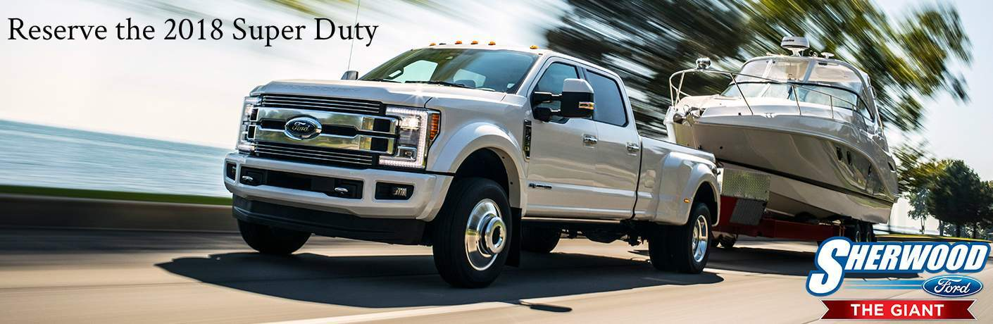 Reserve the 2018 Ford F-150 Super Duty in Edmonton, AB
