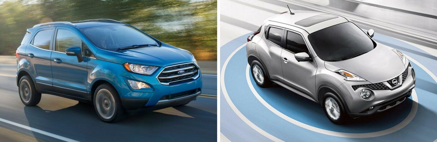 2018 Ford EcoSport vs 2017 Nissan Juke