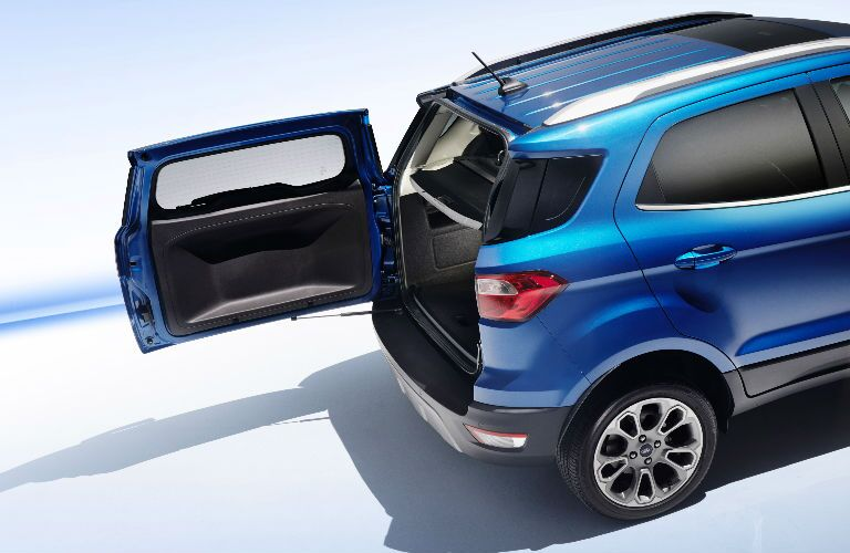 2018 Ford EcoSport swinging tailgate