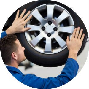 Sherwood Ford Giant Advantage free tire and alignment inspection
