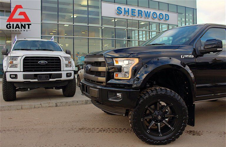 Sherwood Ford Giant Customs trucks
