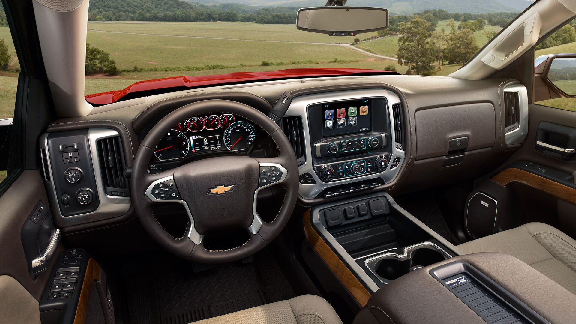 New 2018 Chevy Silverado 1500 Interior