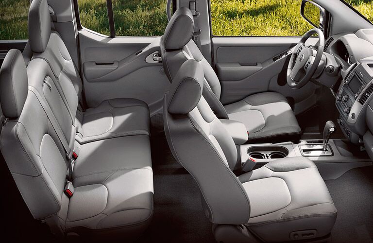 2017 Nissan Frontier Side View of Tan interior