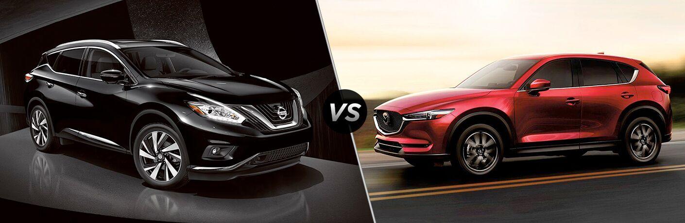 2018 Nissan Murano vs Mazda CX-5