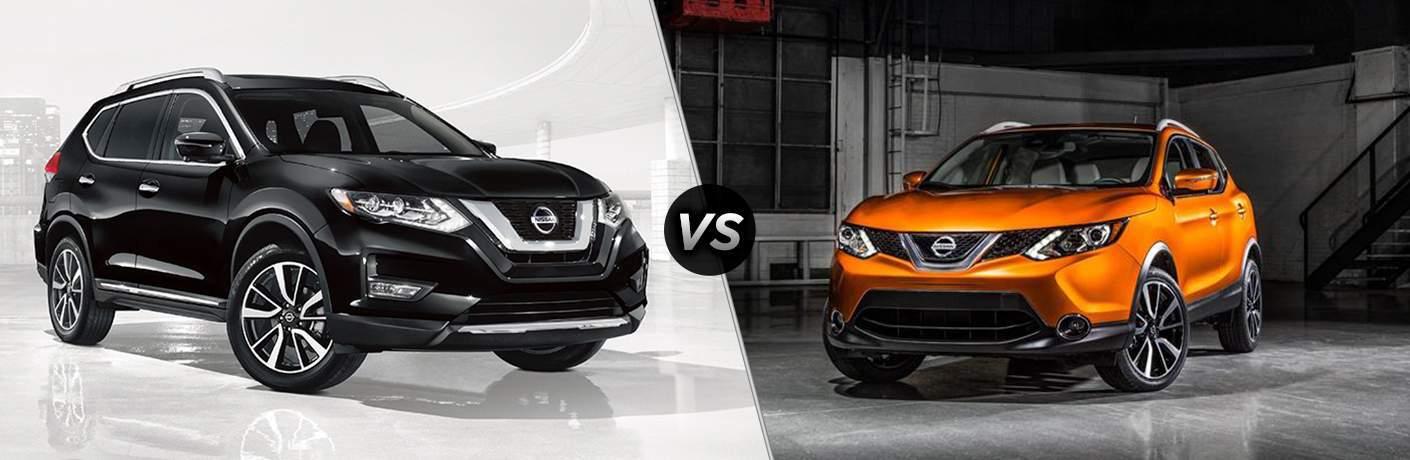 2017 Nissan Rogue vs Rogue Sport2017 Nissan Rogue vs 2017 Nissan Rogue Sport
