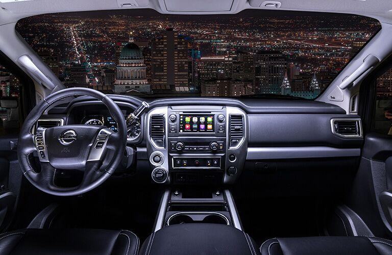 2019 Nissan Titan dashboard