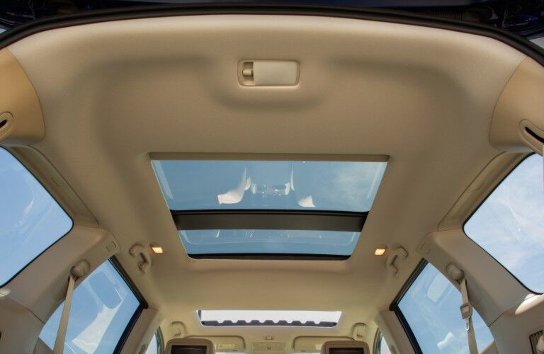 sunroof in 2020 Nissan Pathfinder