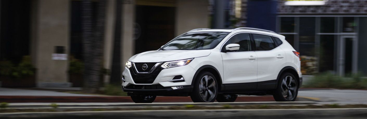 White 2020 Nissan Rogue Sport