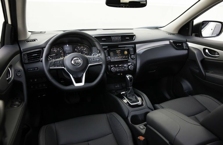 Interior view of 2020 Nissan Rogue Sport