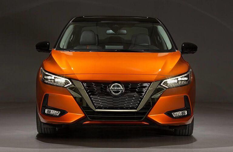 2020 Nissan Sentra front profile