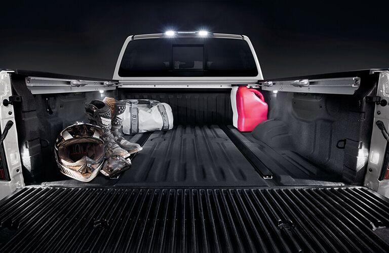 2020 Nissan TITAN cargo bed